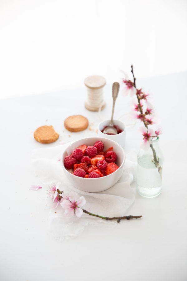 fraises & framboises