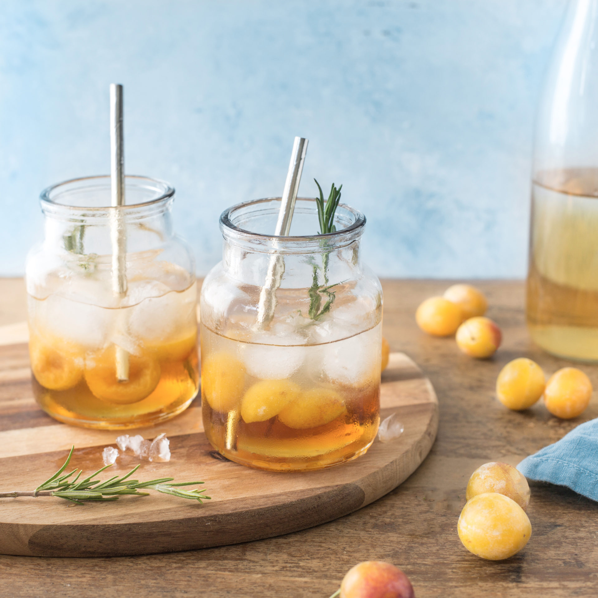 Cocktail Mirabelles de Lorraine - Albane Hemon