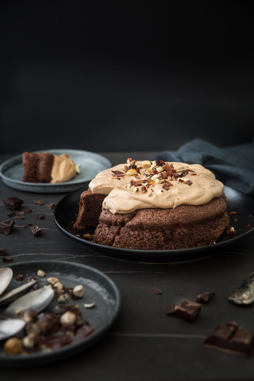 Gâteau chocolat praline Sapienstone - Albane Hemon