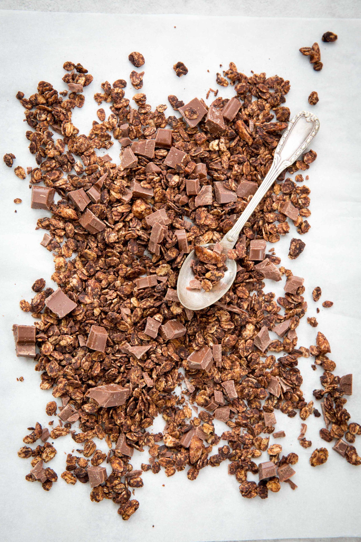 Granola chocolat © Albane Hemon