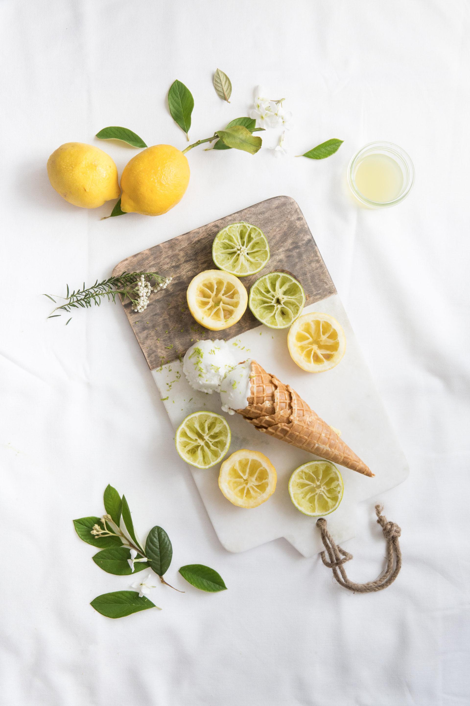 Glace citron et citron vert Mövenpick - Albane Hemon