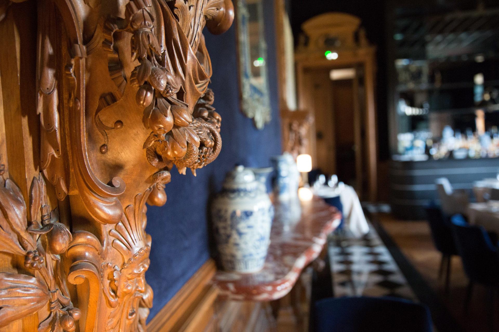 Détails restaurant Le Baron © Albane Hemon