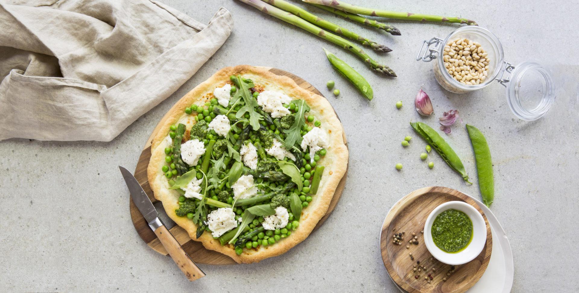 Pizza Primaverra - Albane Hemon